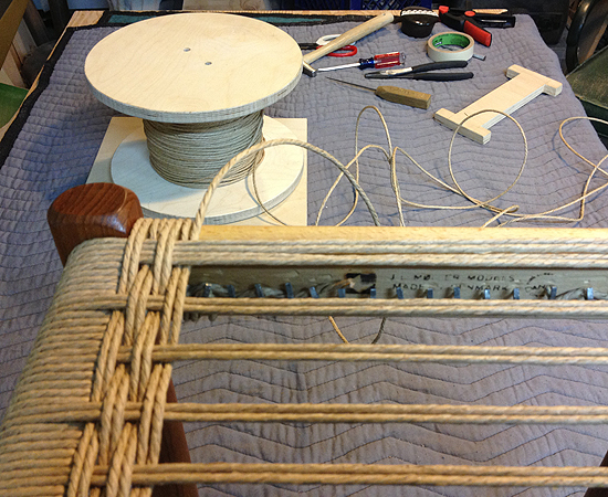 #80A During Weaving