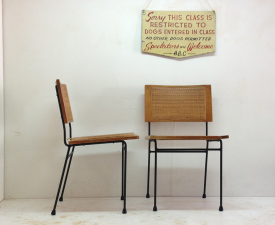 Dorothy Schindele chairs before repair