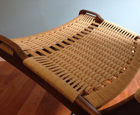 Seat after repair